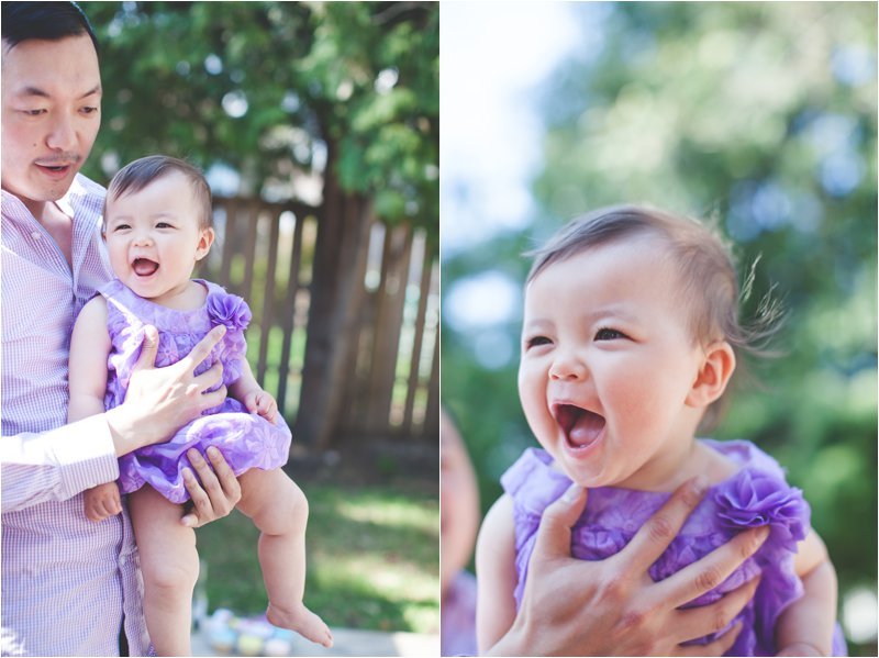 Baby Violet Turns One
