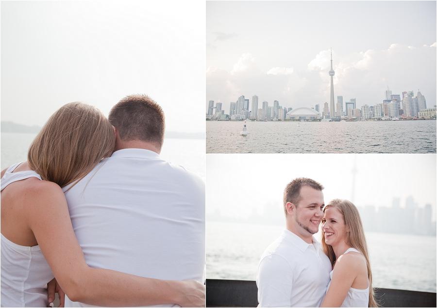 Toronto Skyline Engagement