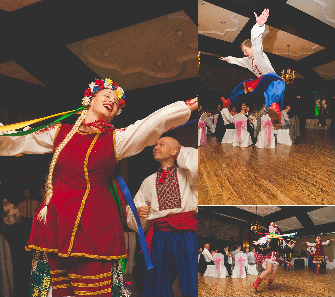 Ukrainian Wedding Reception