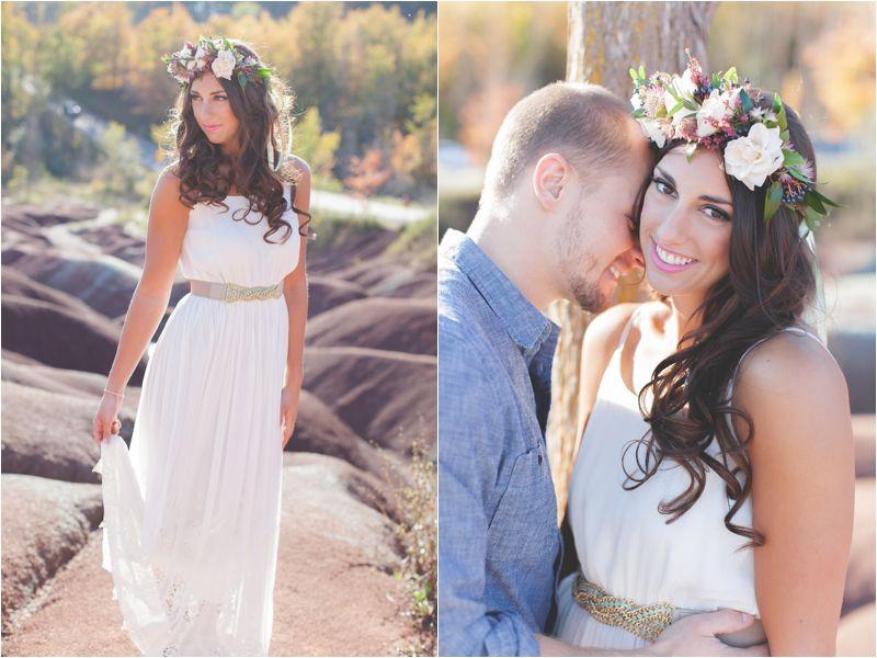 Badlands Styled Engagement Shoot