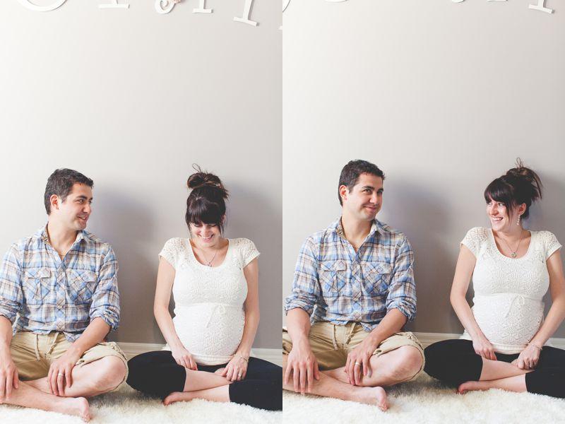 Toronto Maternity Photography ~ Emily & Jeff & Sophie