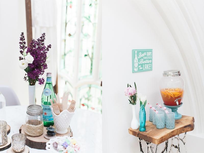Michelle's cottage-themed bachelorette