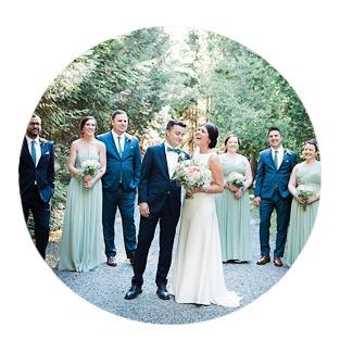 Backyard Cottage Wedding Photography