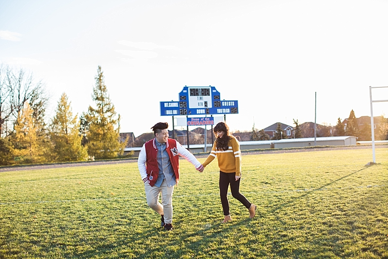High School Sweethearts Engagement