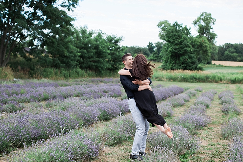 Lavender Field Engagement in Ontario
