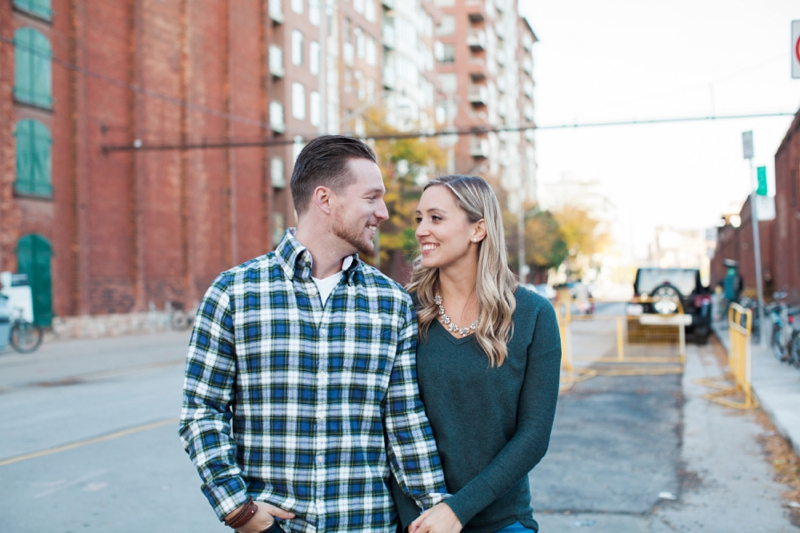 Distillery District Engagement Photos