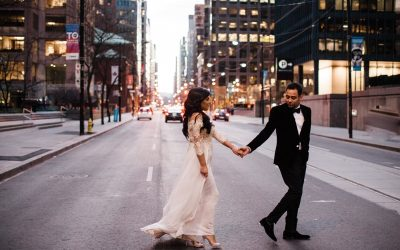 Toronto Winter City Wedding