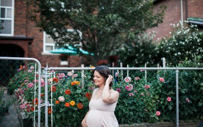 High Park Maternity Photos
