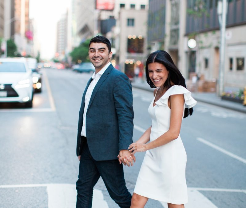 Yorkville Engagement Photos