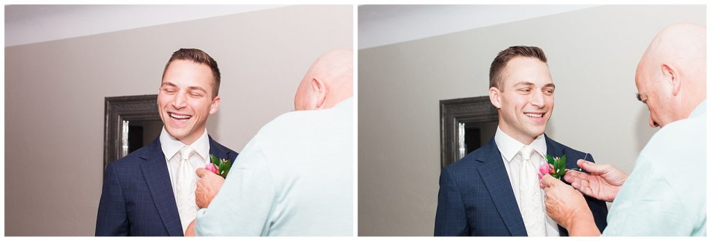 Groom getting ready at Guelph Ontario Wedding | Ontario Wedding Photographer | Toronto Wedding Photographer | 3photography