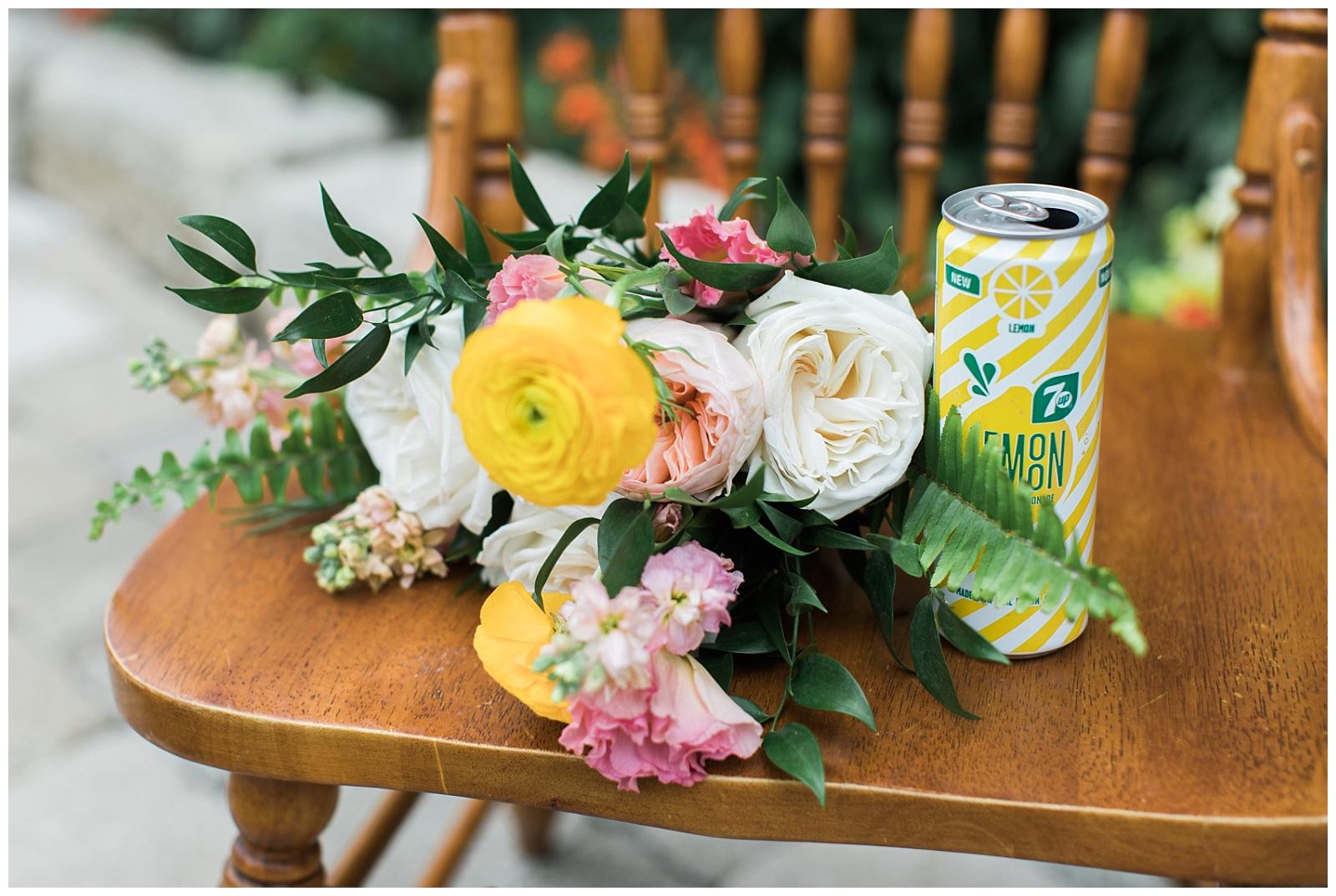 Flower bouquet detail shot at Guelph Ontario Wedding | Ontario Wedding Photographer | Toronto Wedding Photographer | 3photography