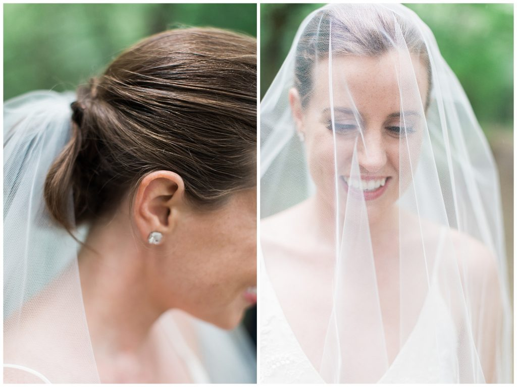 Bride under veil at Guelph Ontario Wedding | Ontario Wedding Photographer | Toronto Wedding Photographer | 3photography