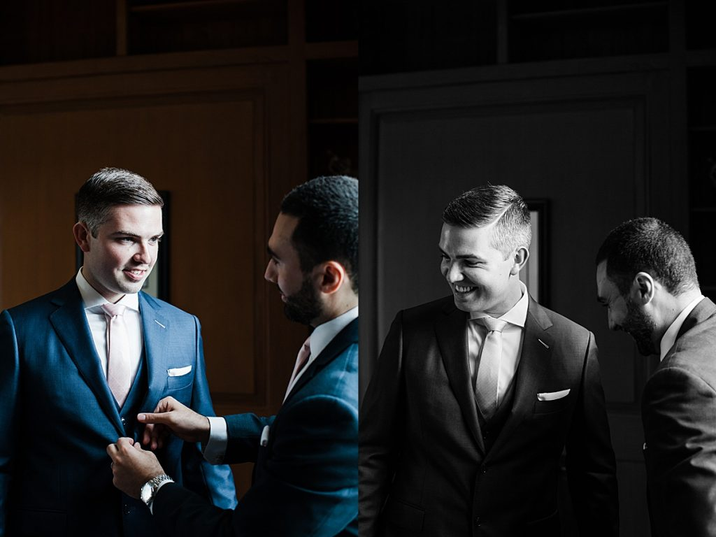 Groom getting ready| Harding Waterfront Estate Wedding| Ontario wedding photographer| Toronto wedding photographer| 3 Photography | 3photography.ca