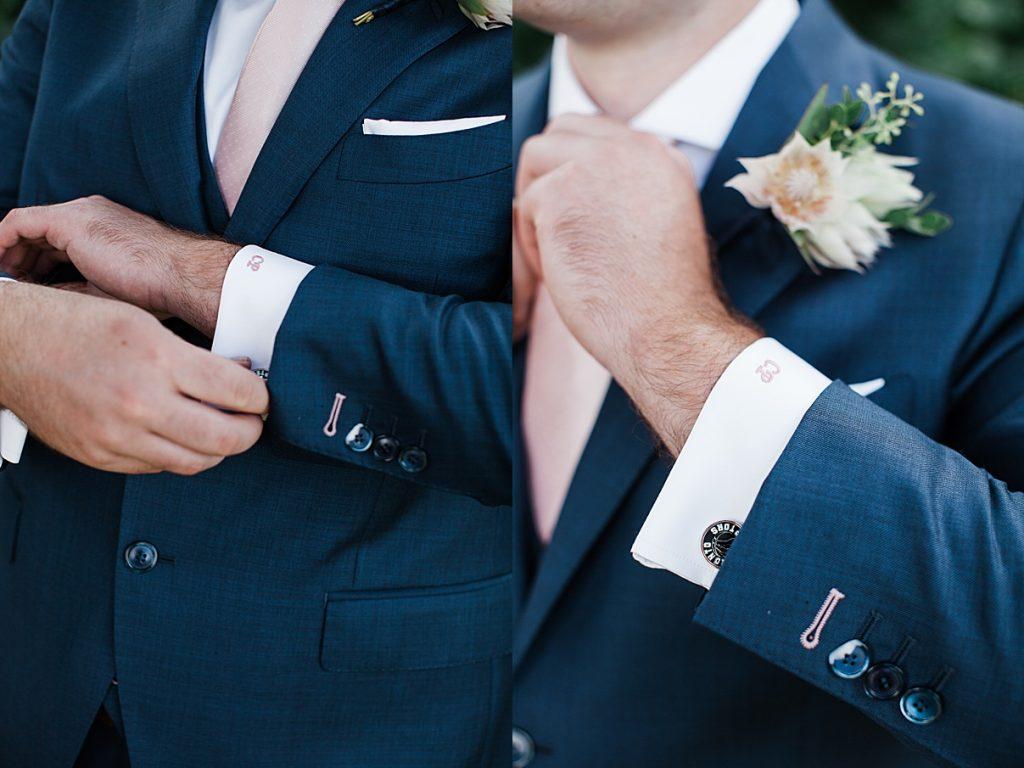 Groom cufflinks| Harding Waterfront Estate Wedding| Ontario wedding photographer| Toronto wedding photographer| 3 Photography | 3photography.ca