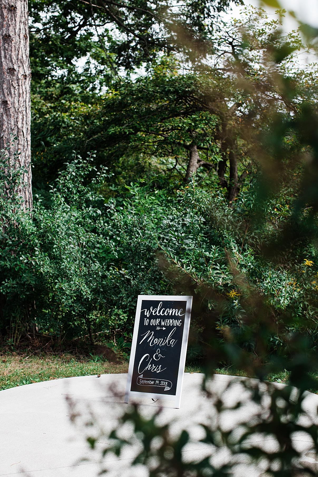 Wedding sign| Harding Waterfront Estate Wedding| Ontario wedding photographer| Toronto wedding photographer| 3 Photography | 3photography.ca