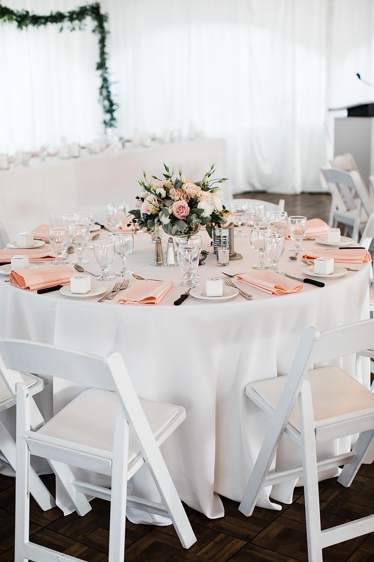 Romantic wedding reception table setting| Harding Waterfront Estate Wedding| Ontario wedding photographer| Toronto wedding photographer| 3 Photography | 3photography.ca