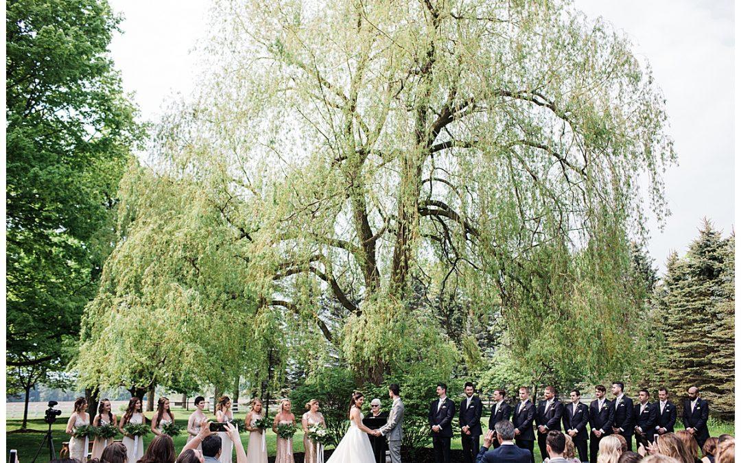 Gorgeous Outdoor Wedding At Belcroft Estate, Ontario