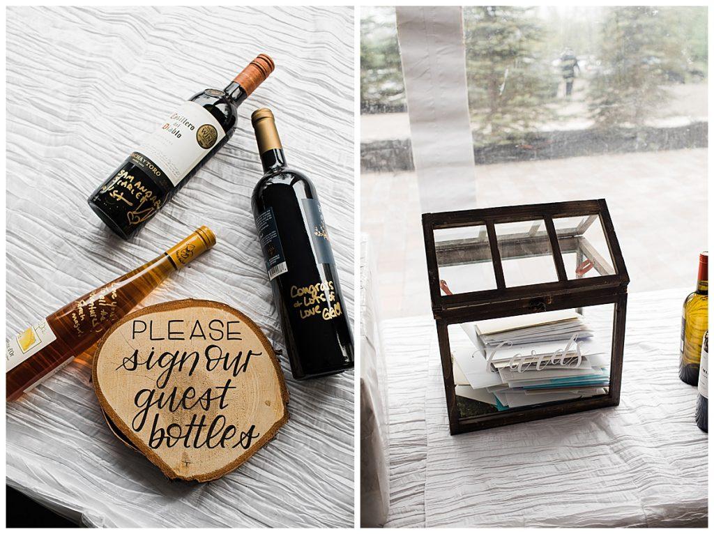 Wedding guest letter box| Belcroft Estate Wedding| Toronto wedding photographer| Ontario wedding photographer| 3photography