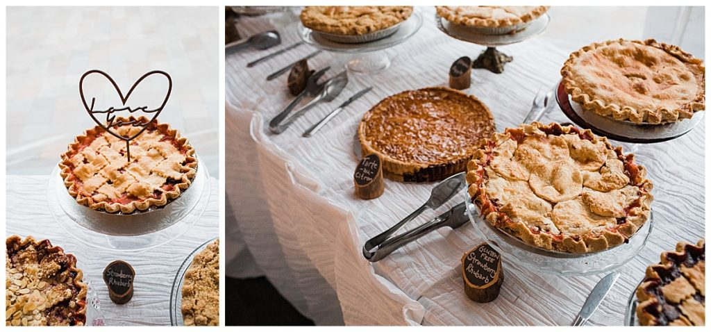 Baked wedding pies| Belcroft Estate Wedding| Toronto wedding photographer| Ontario wedding photographer| 3photography