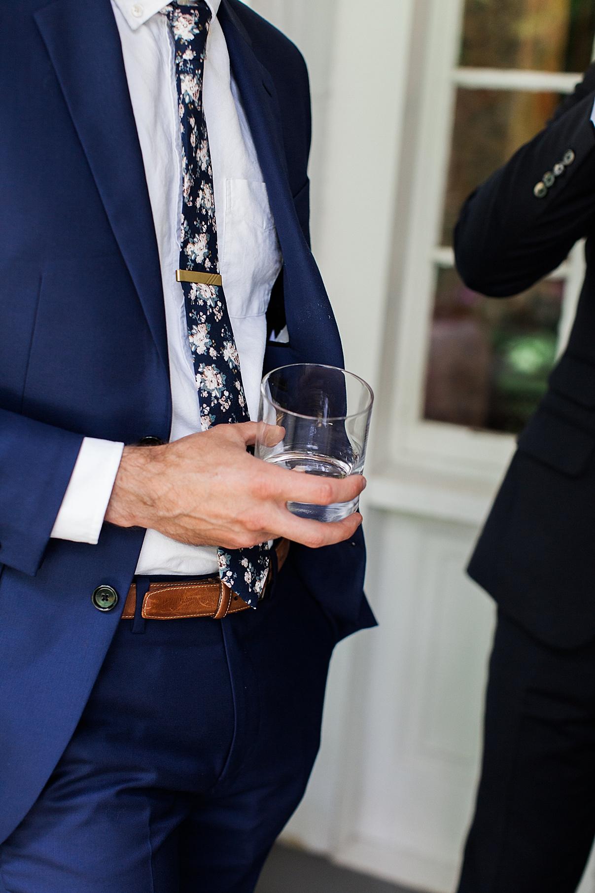 Groom holding whiskey glass | Balls Falls, Ontario Wedding| Ontario Wedding Photographer| Toronto Wedding Photographer| 3Photography|3photography.ca