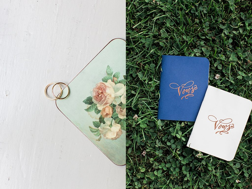 Wedding bands and vow books | Balls Falls, Ontario Wedding| Ontario Wedding Photographer| Toronto Wedding Photographer| 3Photography|3photography.ca