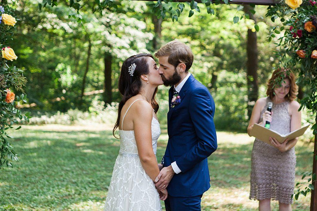 You may kiss the bride | Balls Falls, Ontario Wedding| Ontario Wedding Photographer| Toronto Wedding Photographer| 3Photography| 3photography.ca