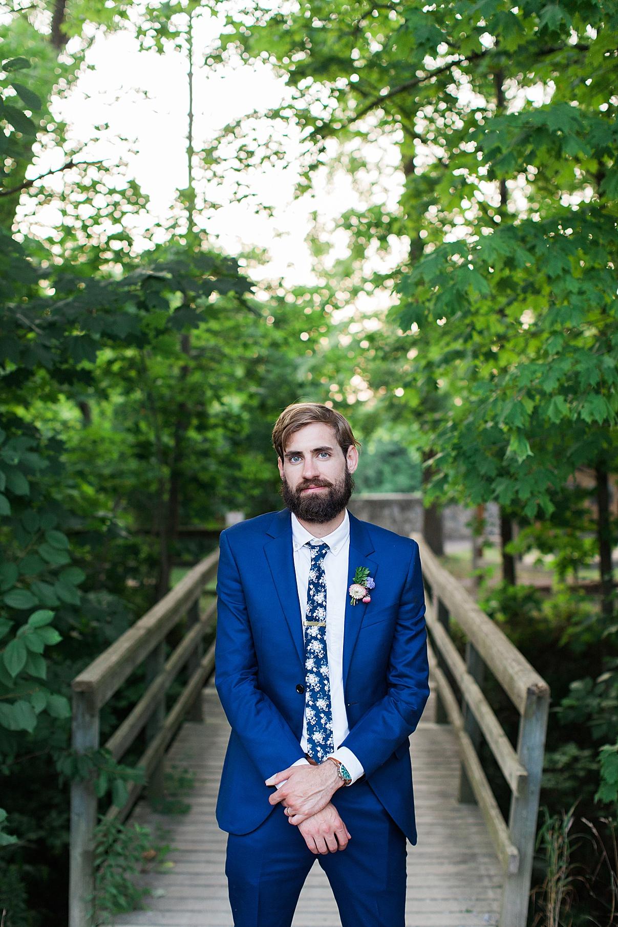 Groom portrait| Balls Falls, Ontario Wedding| Ontario Wedding Photographer| Toronto Wedding Photographer| 3Photography| 3photography.ca