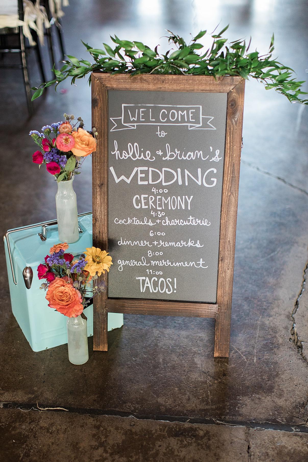 Wedding welcome sign | Balls Falls, Ontario Wedding| Ontario Wedding Photographer| Toronto Wedding Photographer| 3Photography| 3photography.ca