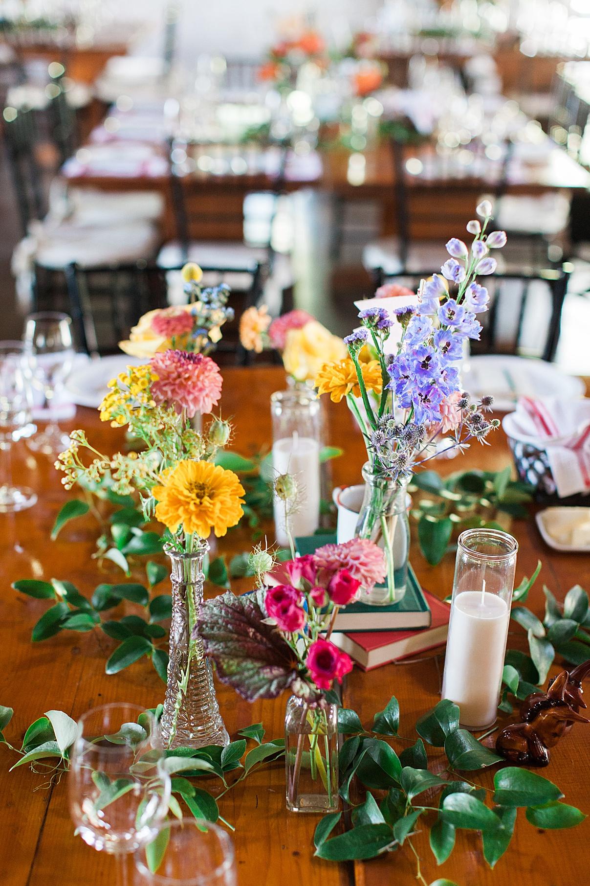 Centerpiece details Balls Falls, Ontario Wedding| Ontario Wedding Photographer| Toronto Wedding Photographer| 3Photography| 3photography.ca
