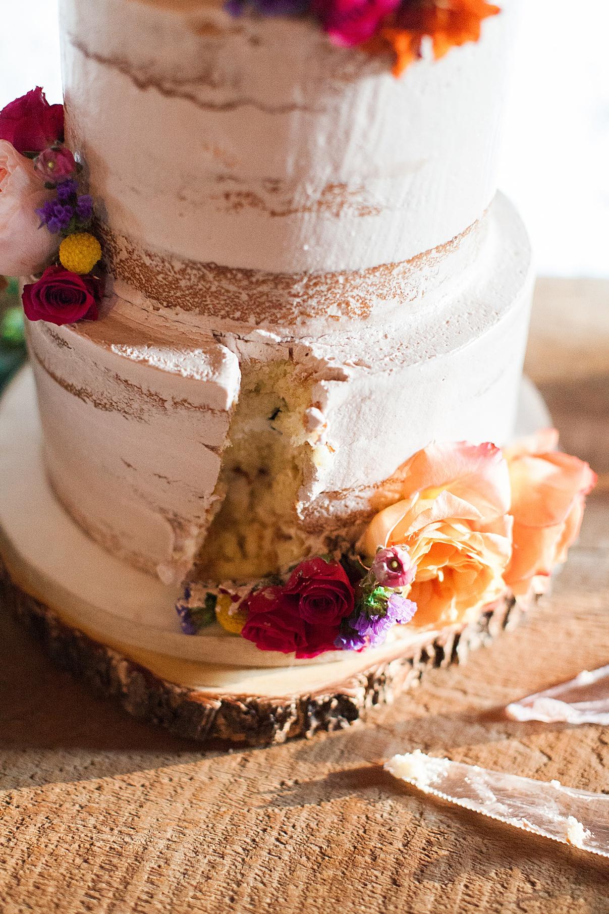 Gorgeous rustic cake | Balls Falls, Ontario Wedding| Ontario Wedding Photographer| Toronto Wedding Photographer| 3Photography| 3photography.ca