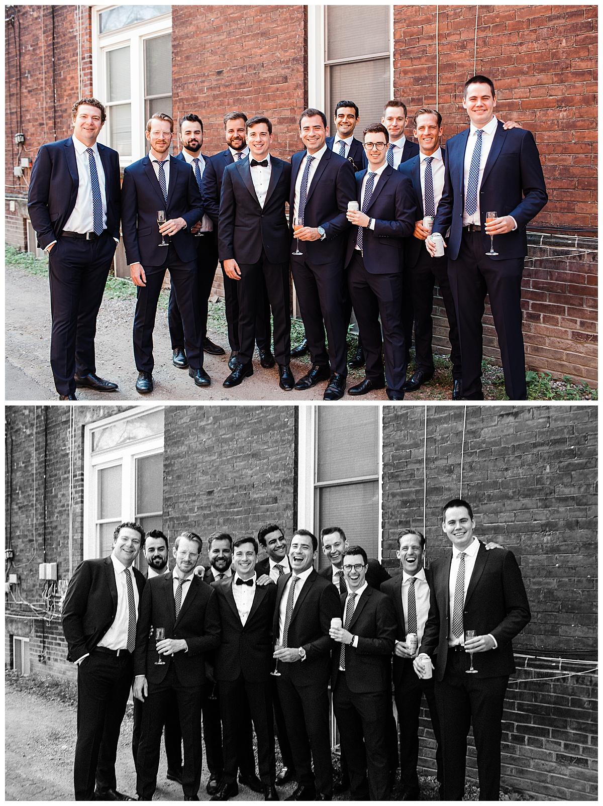 Groom and groomsmen group photo  3photography