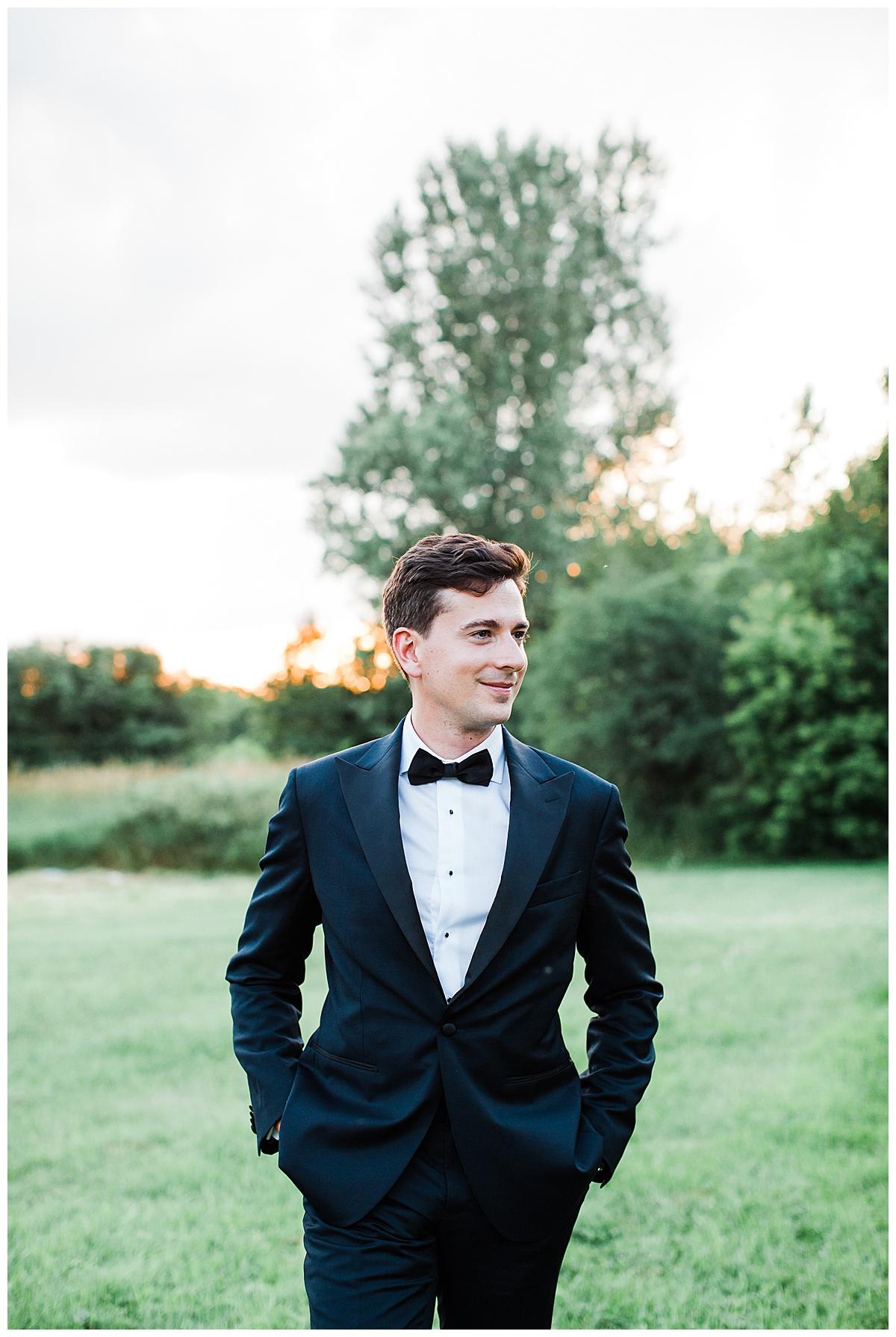 Groom portrait  Ontario wedding  Toronto wedding photographer  3photography