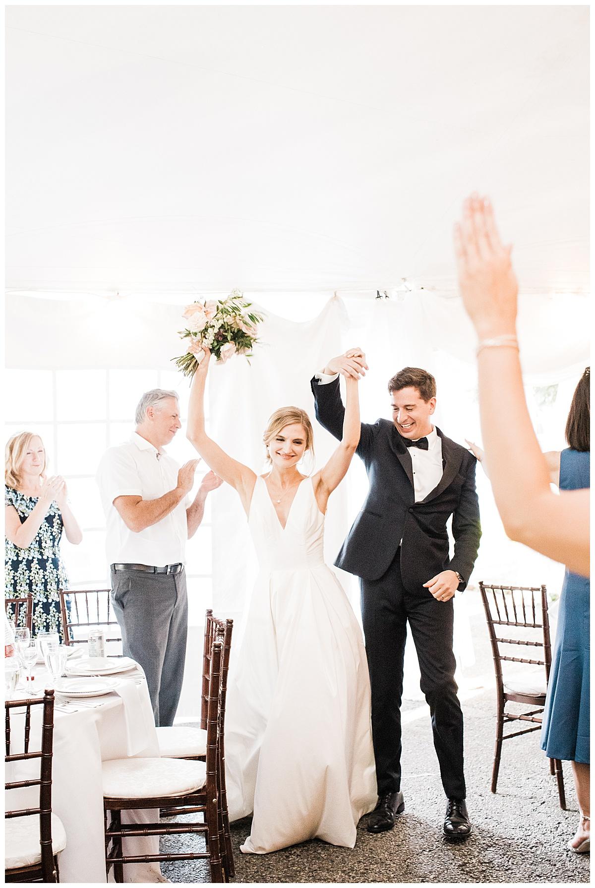 Bride and groom grand entrance| Toronto wedding photographer| 3photography