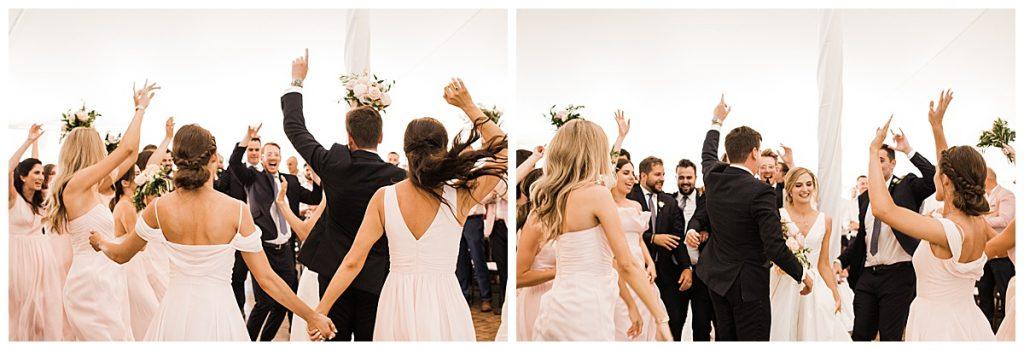 Wedding reception dancing  3photography