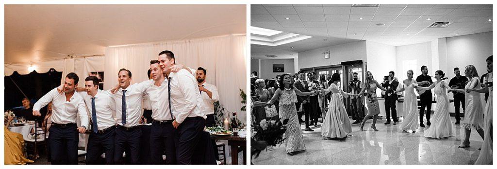 Ontario wedding reception dancing  3photography
