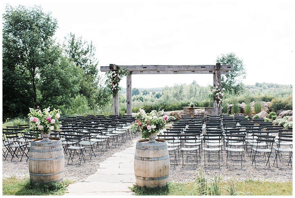 Adamo Estate Winery Wedding| Winery wedding ceremony| 3photography