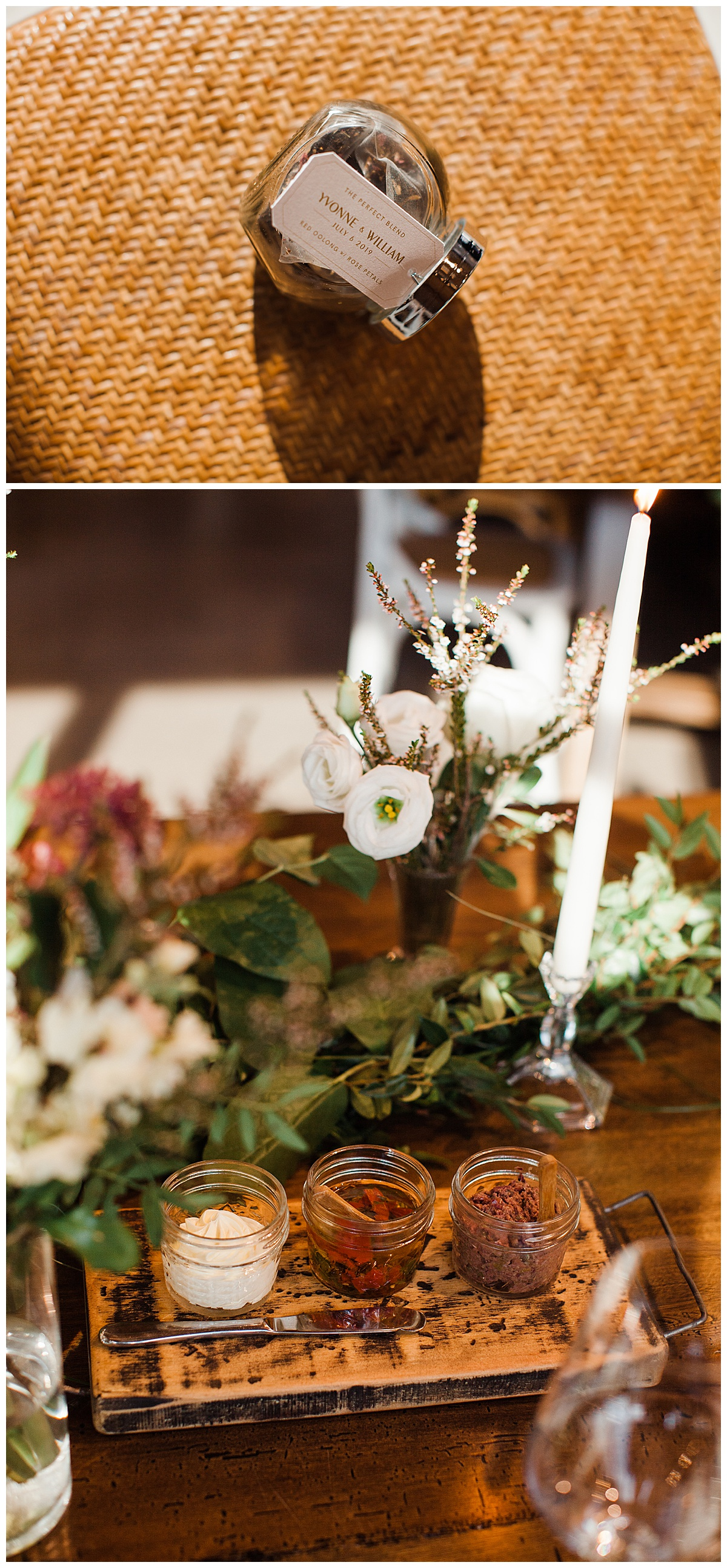 Wedding reception jam and spices| Winery wedding reception details| Toronto photographer| 3photography